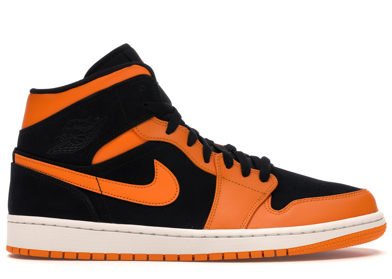 air jordan 1 mid low orange