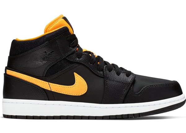 the best attitude e5bce bb07e Jordan 1 Mid Black University Gold