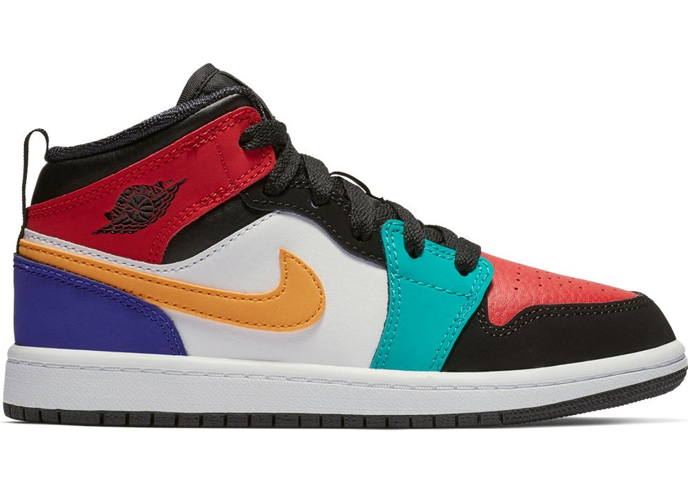 394c20ada4a Jordan 1 Mid Bred Multi-Color (PS) - 640734-125