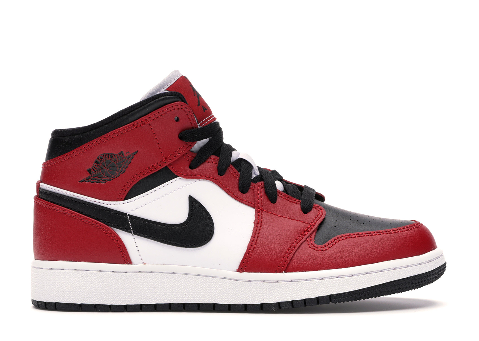 air jordan mid rouge