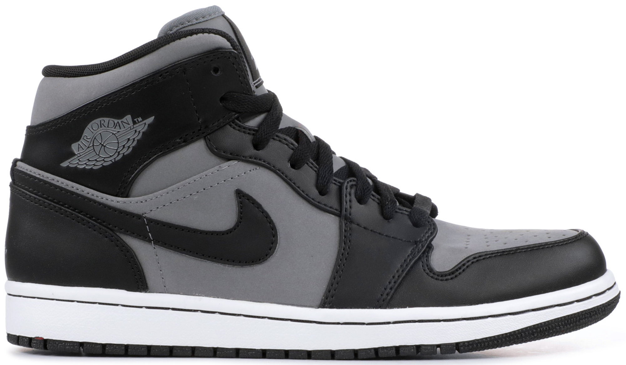 Jordan 1 Mid Cool Grey Black - 364770-023