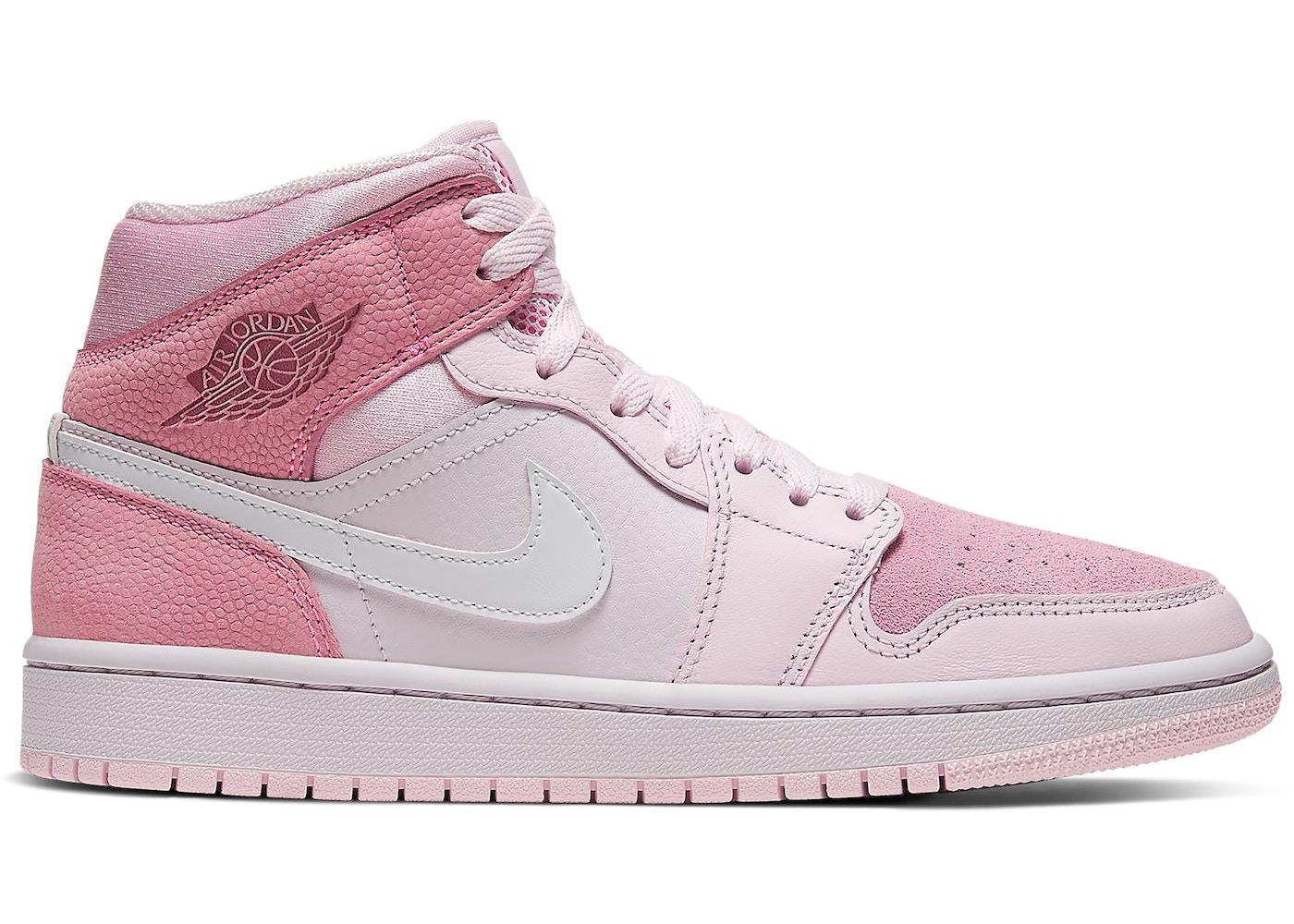 air jordan 1 mid rosa