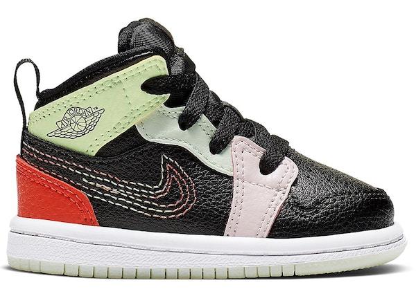 sports shoes 8697c 11767 Jordan 1 Mid Glow-In-The-Dark (TD)