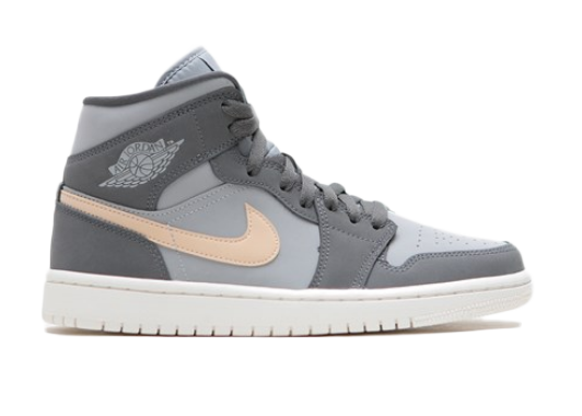 Jordan 1 Mid Grey Onyx (W) - BQ6472-020