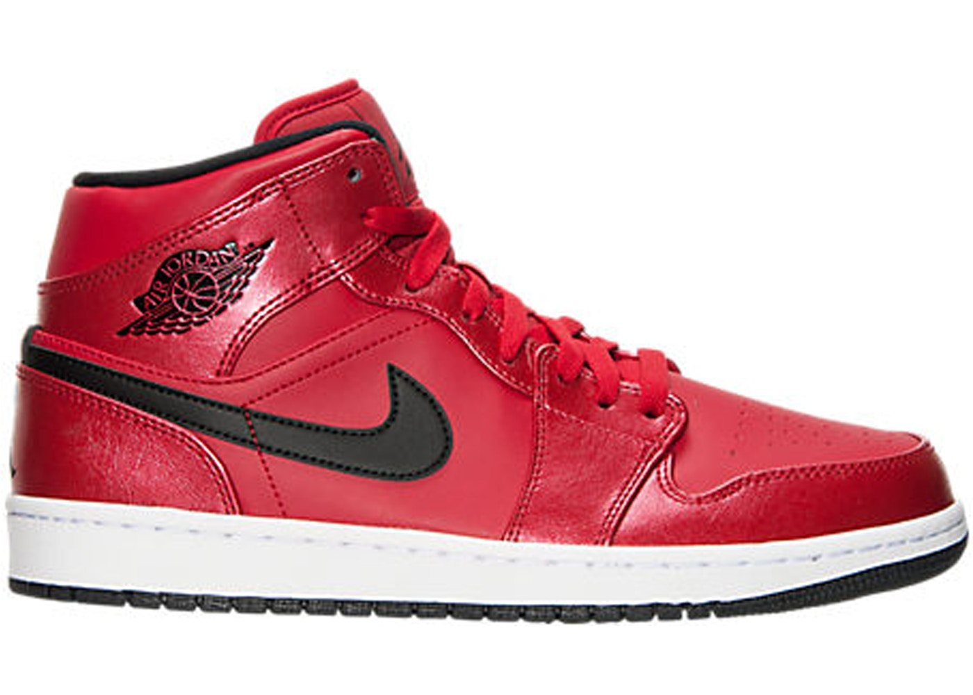 efb82926955f Jordan 1 Mid Gym Red Black Patent - 554724-602