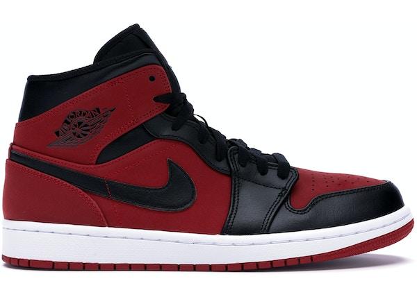db0a26ea008 Jordan 1 Mid Gym Red Black - 554724-610