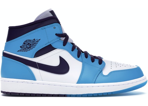 the best attitude 48603 e6439 Jordan 1 Mid Hornets