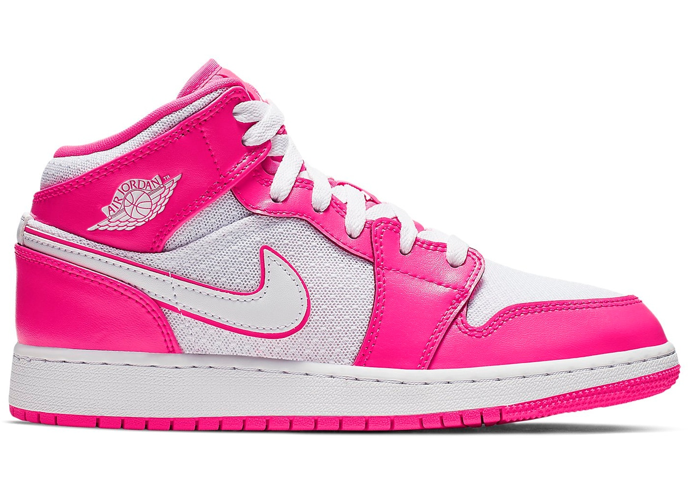 c56731b131ae76 Sell. or Ask. Size  4Y. View All Bids. Jordan 1 Mid Hyper Pink White (GS)