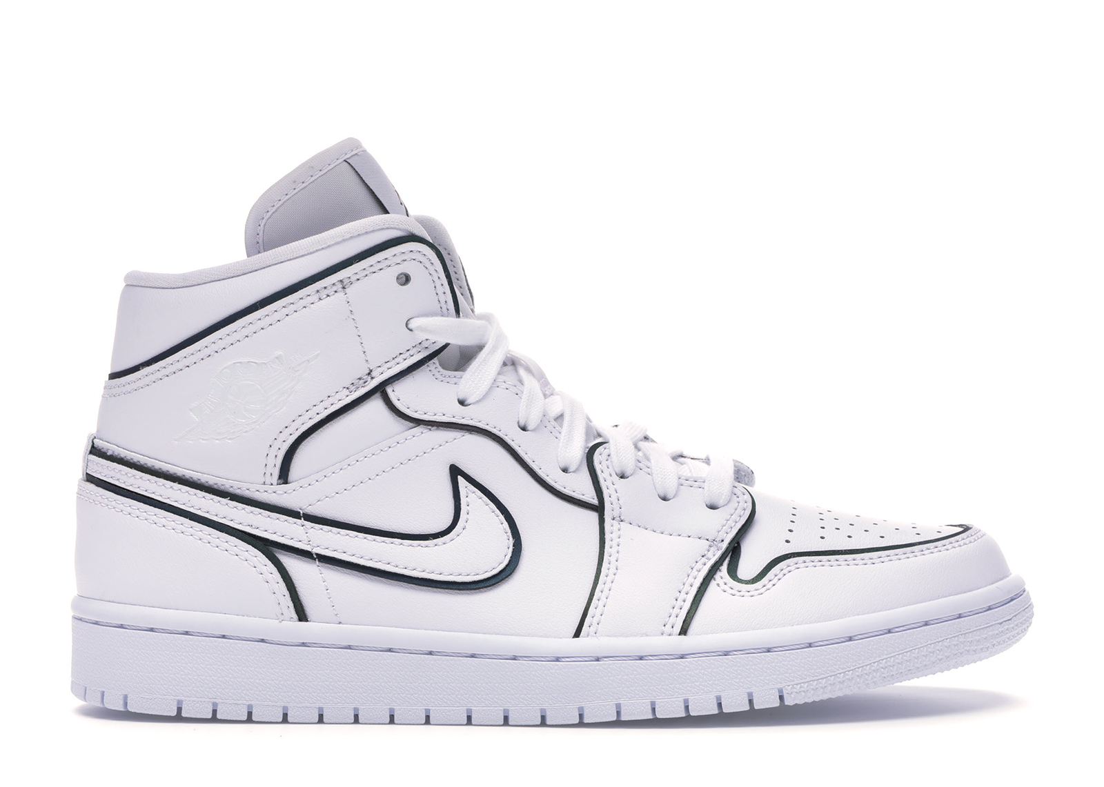 Jordan 1 Mid Iridescent Reflective White (W)
