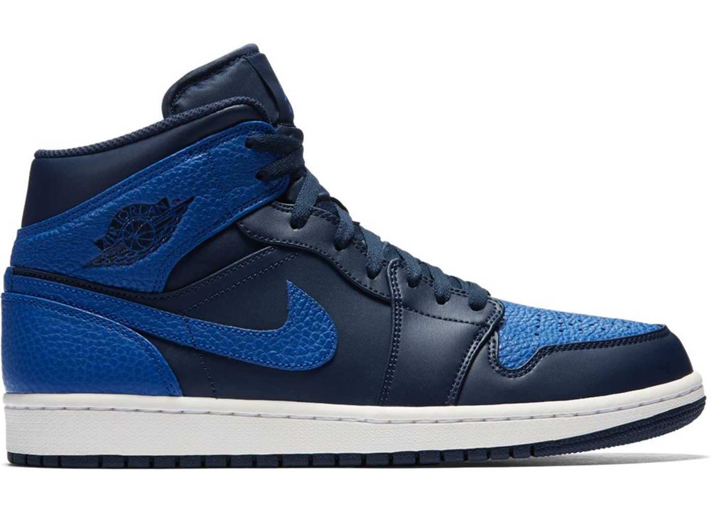 Sell. or Ask. Size  7.5. View All Bids. Jordan 1 Mid Obsidian Game Royal ec921c57c2b9