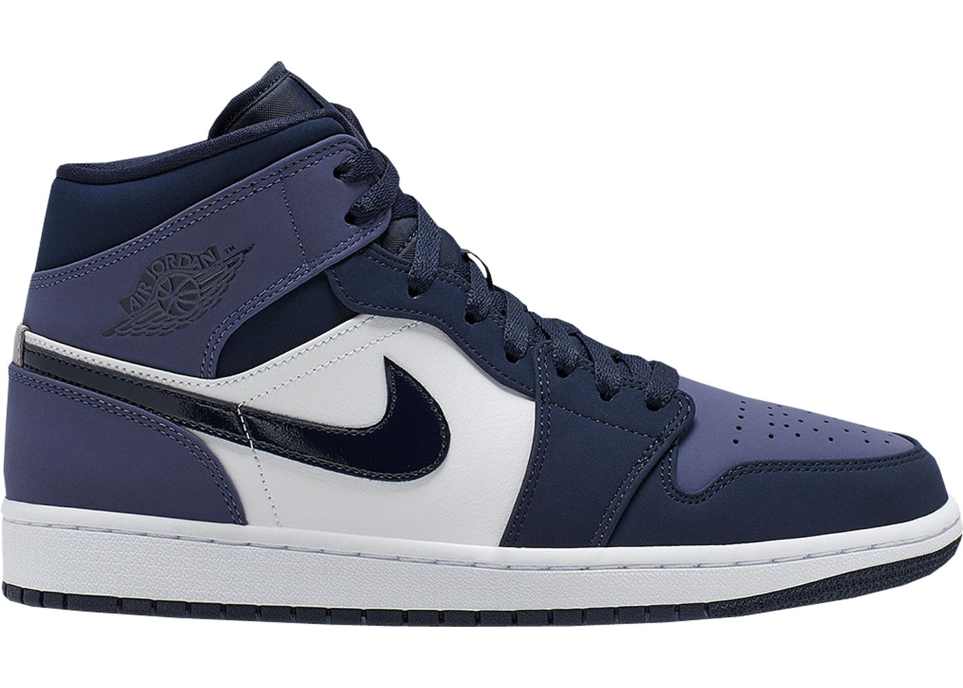 separation shoes 6e227 ba195 Jordan 1 Mid Obsidian Sanded Purple