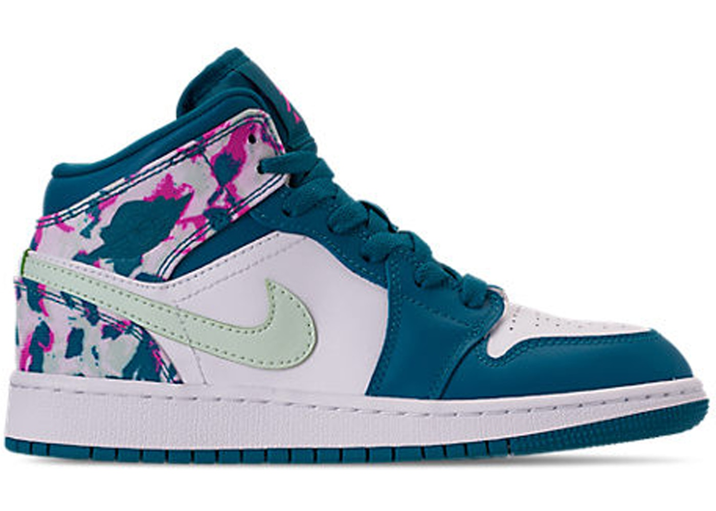 detailed look 0b335 9a123 Jordan 1 Mid Paint Stroke (GS)
