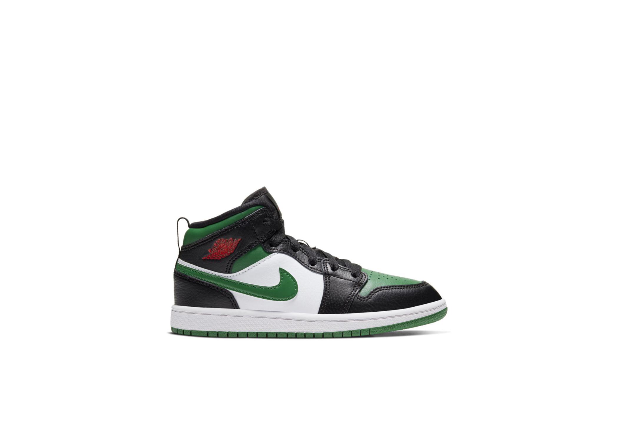 Jordan 1 Mid Pine Green (PS) - 640734-067