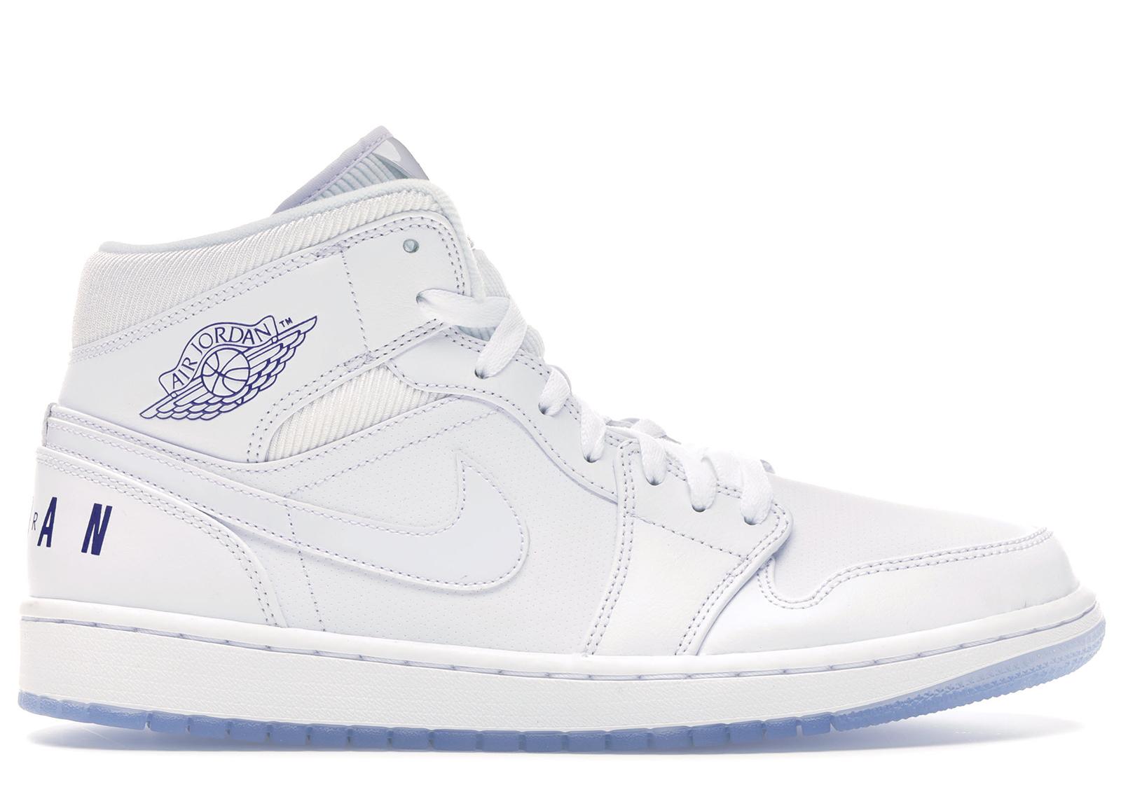 Jordan 1 Mid Pure White - BQ6578-100