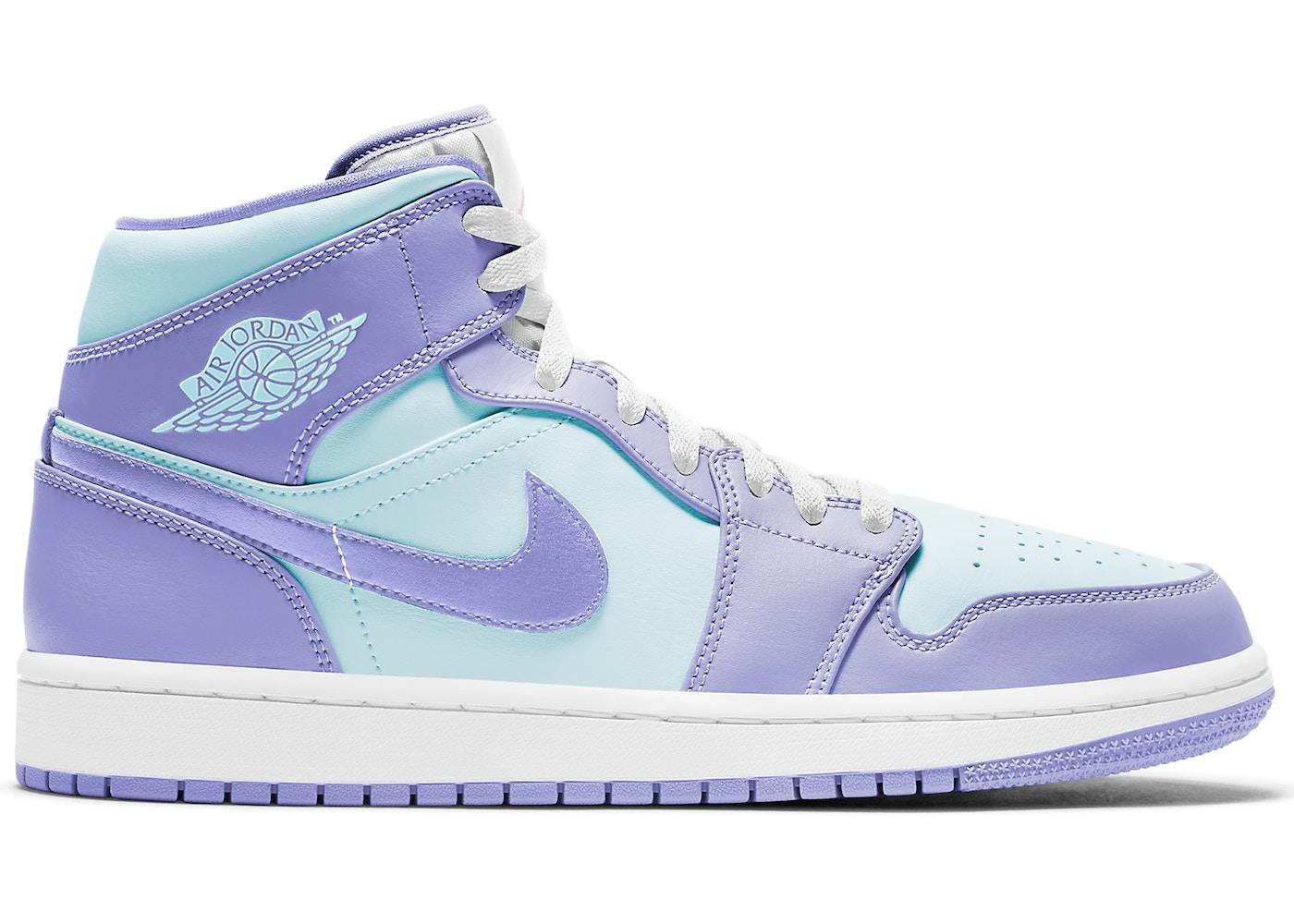 air jordan 1 violet pastel