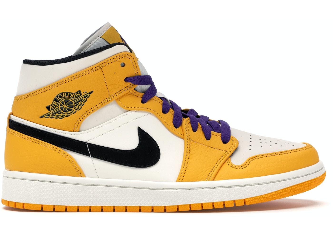 0a73bef15afae6 Jordan 1 Mid SE Lakers - 852542-700