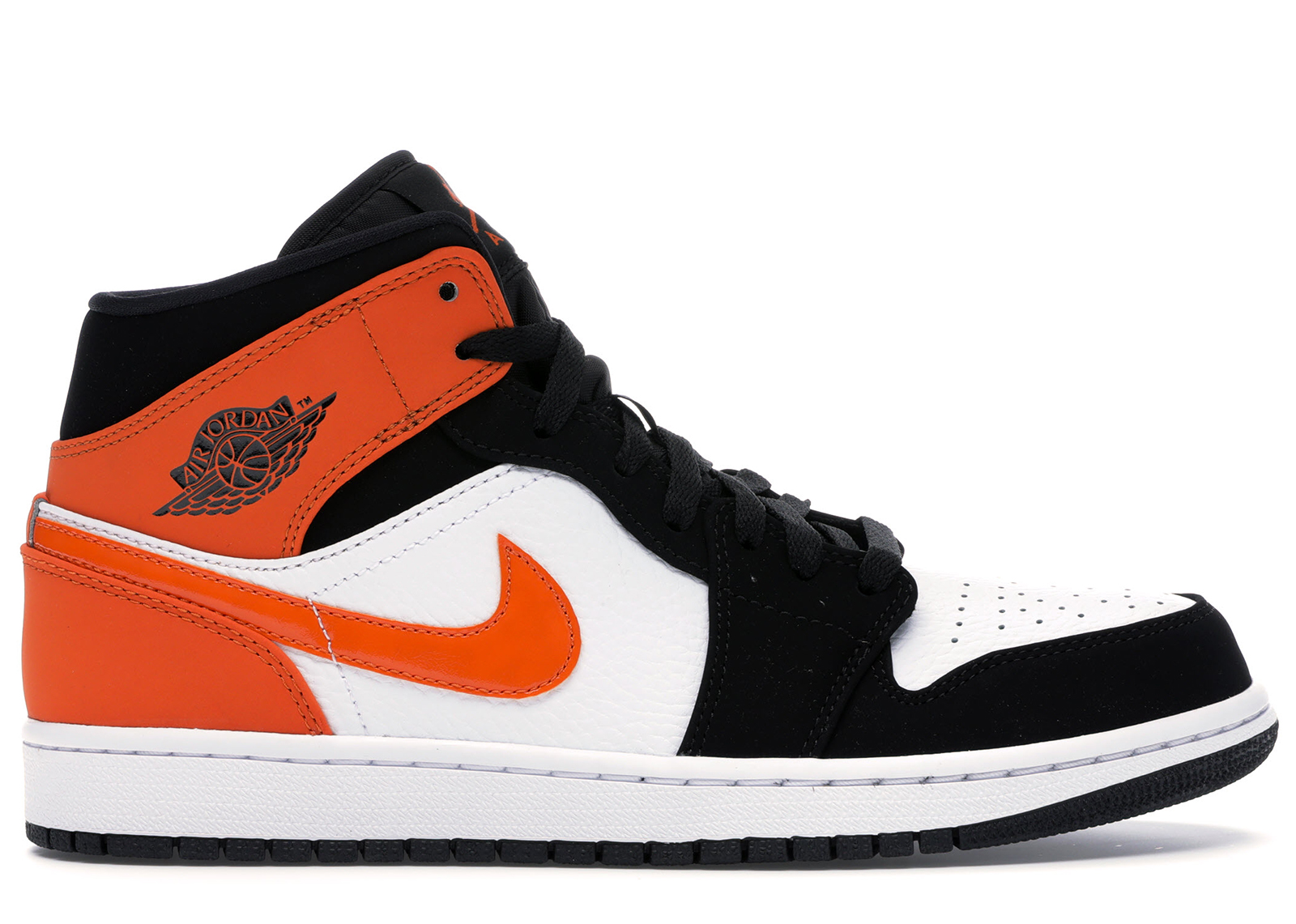 air jordan 1 mid orange 38