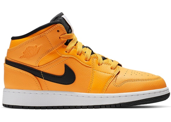 Jordan 1 Mid University Gold Black (GS) 314eb17d5