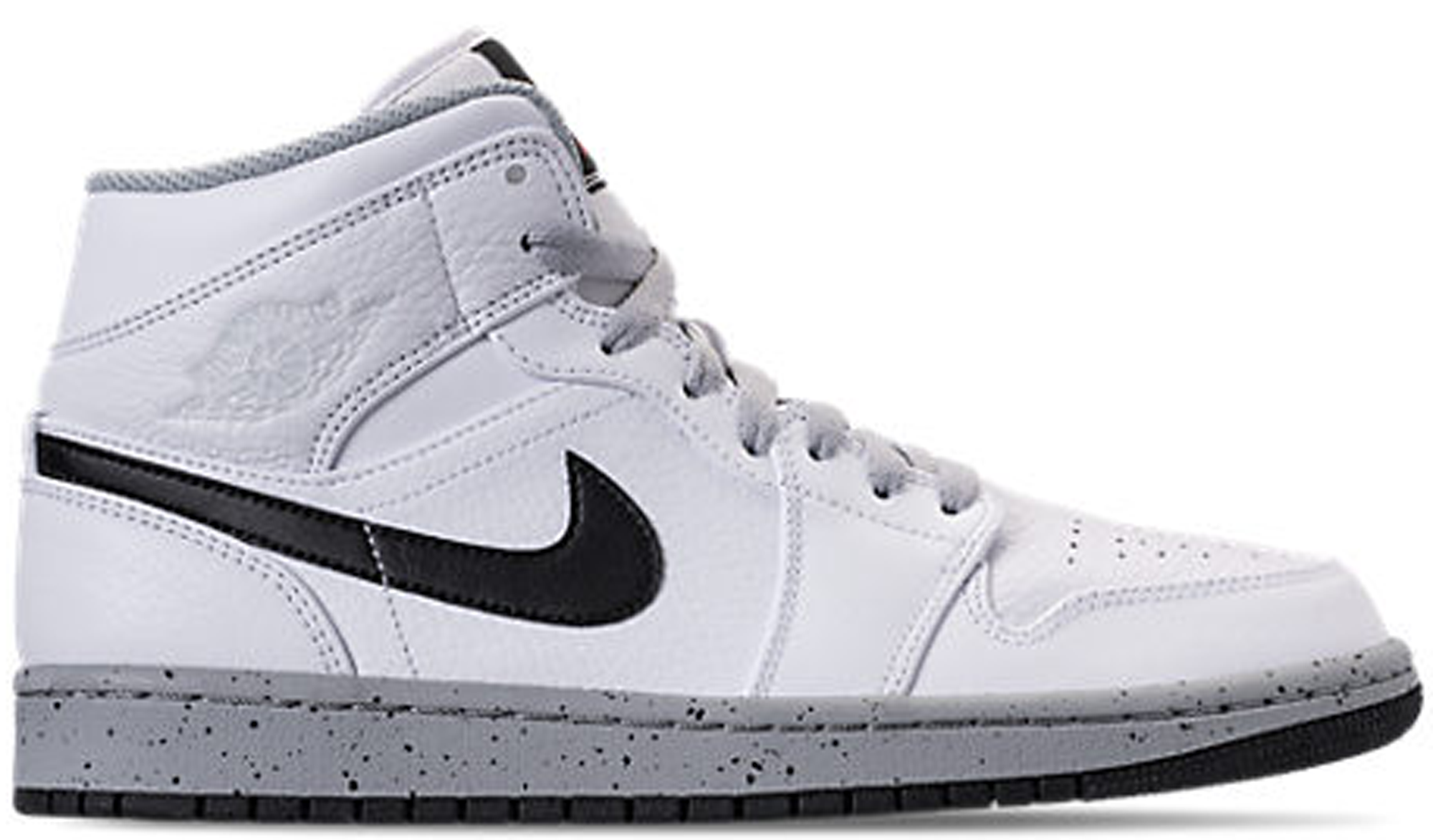 hot sale online 6bc8f 93c1b ... real jordan 1 mid white cement 9101c a370c