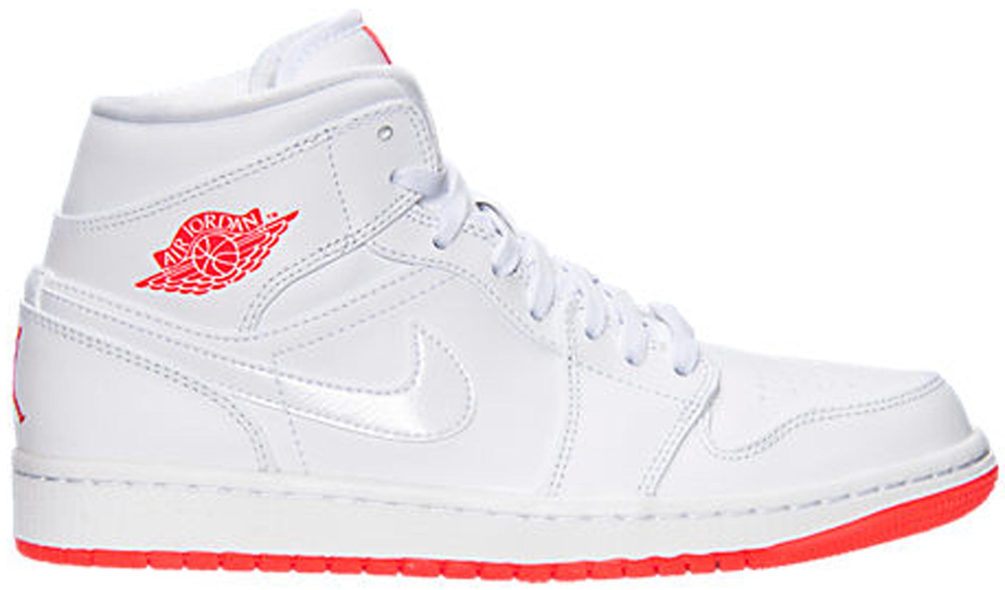 Jordan 1 Mid White Infrared 23 - 667399-123