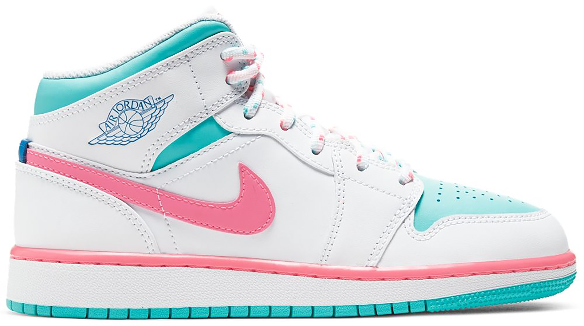 Mid White Pink Green Soar (gs