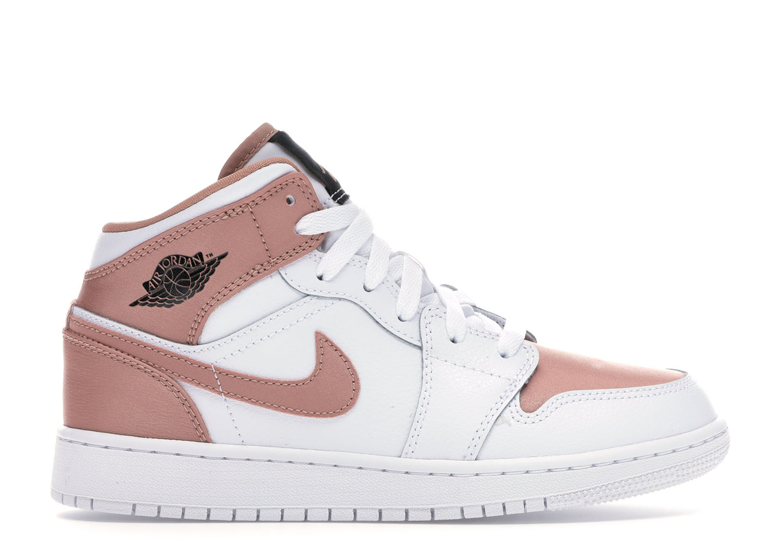 air jordan 1 mid blanche rose