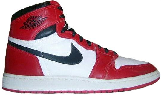 Jordan 1 OG Chicago (1985)