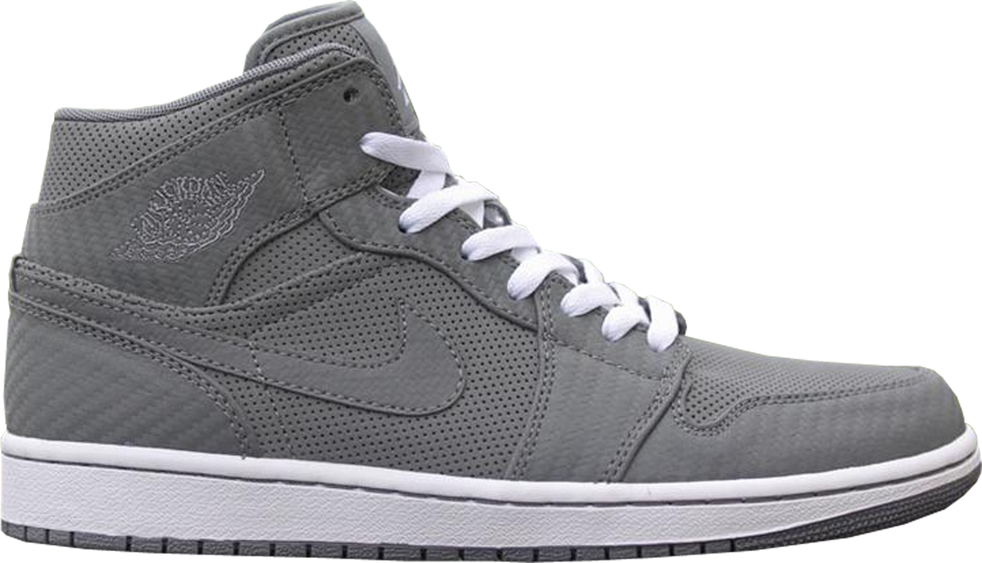 Jordan 1 Phat Cool Grey (Carbon Fiber)