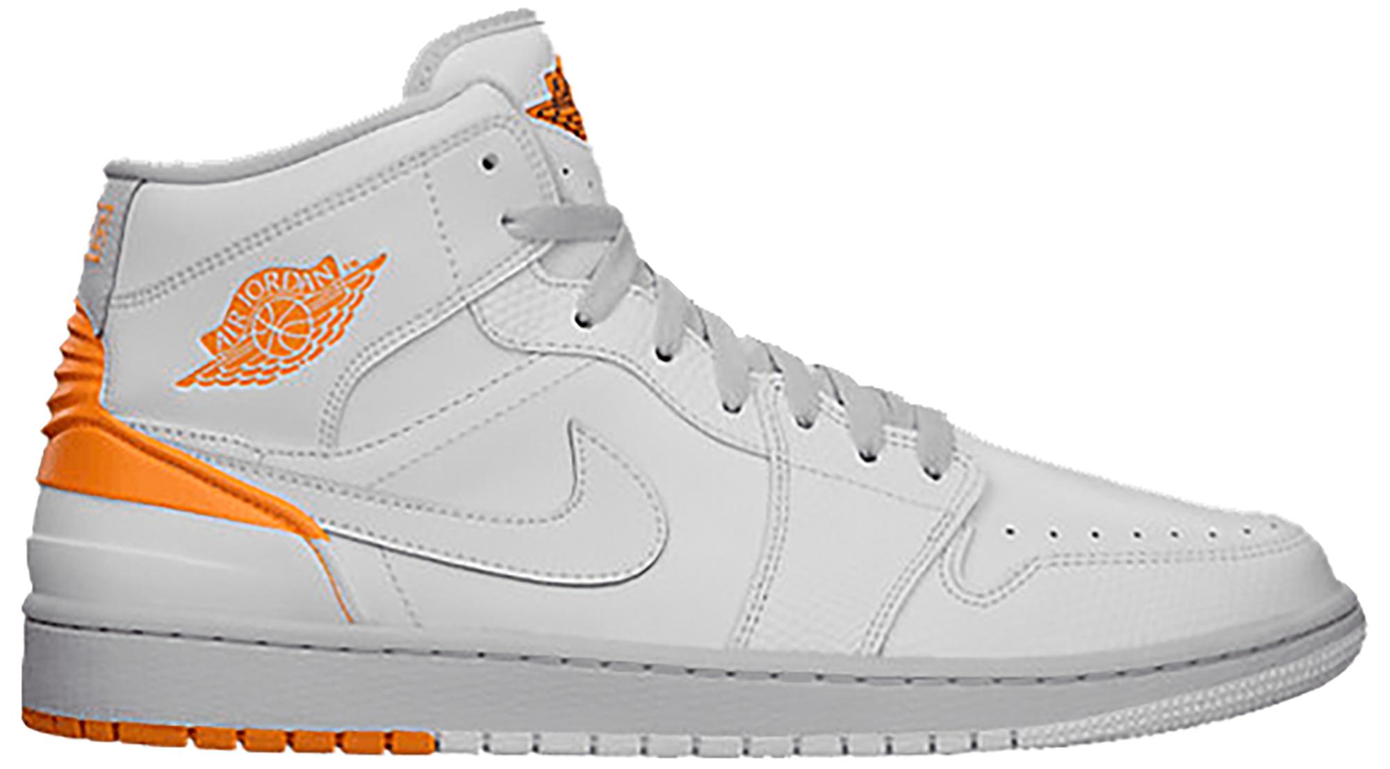 Jordan 1 Retro 86 White Kumquat