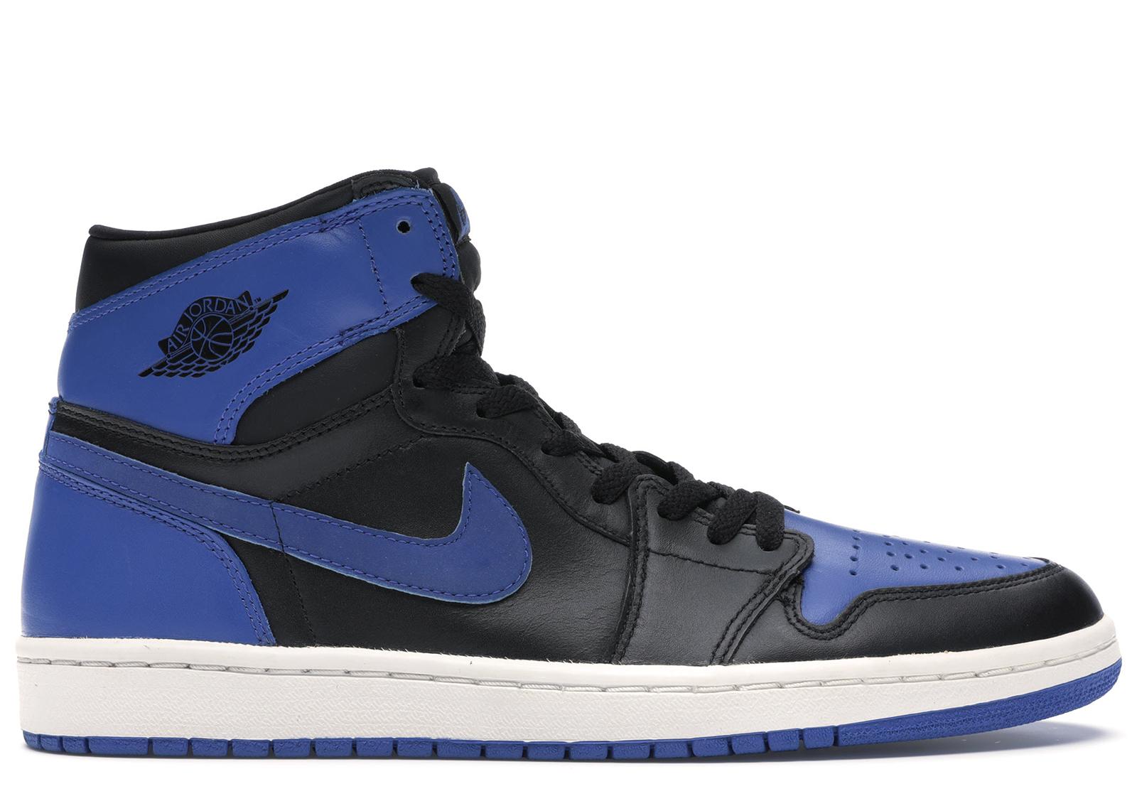 Jordan 1 Retro Black Royal Blue (2001