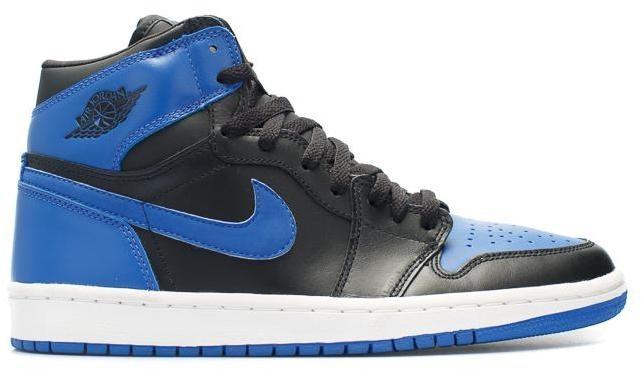 Jordan 1 Retro Black Royal Blue (2001)