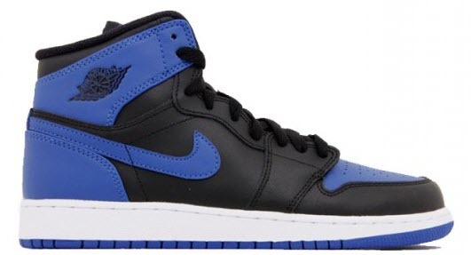 air jordan 1 black blue