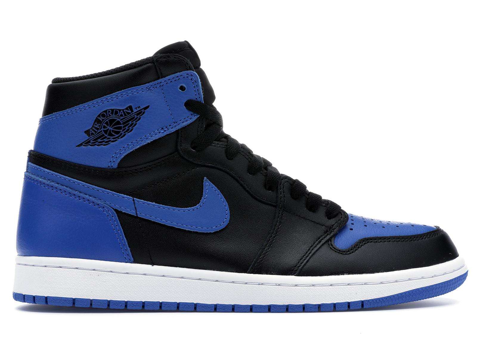 Jordan 1 Retro Black Royal Blue (2013