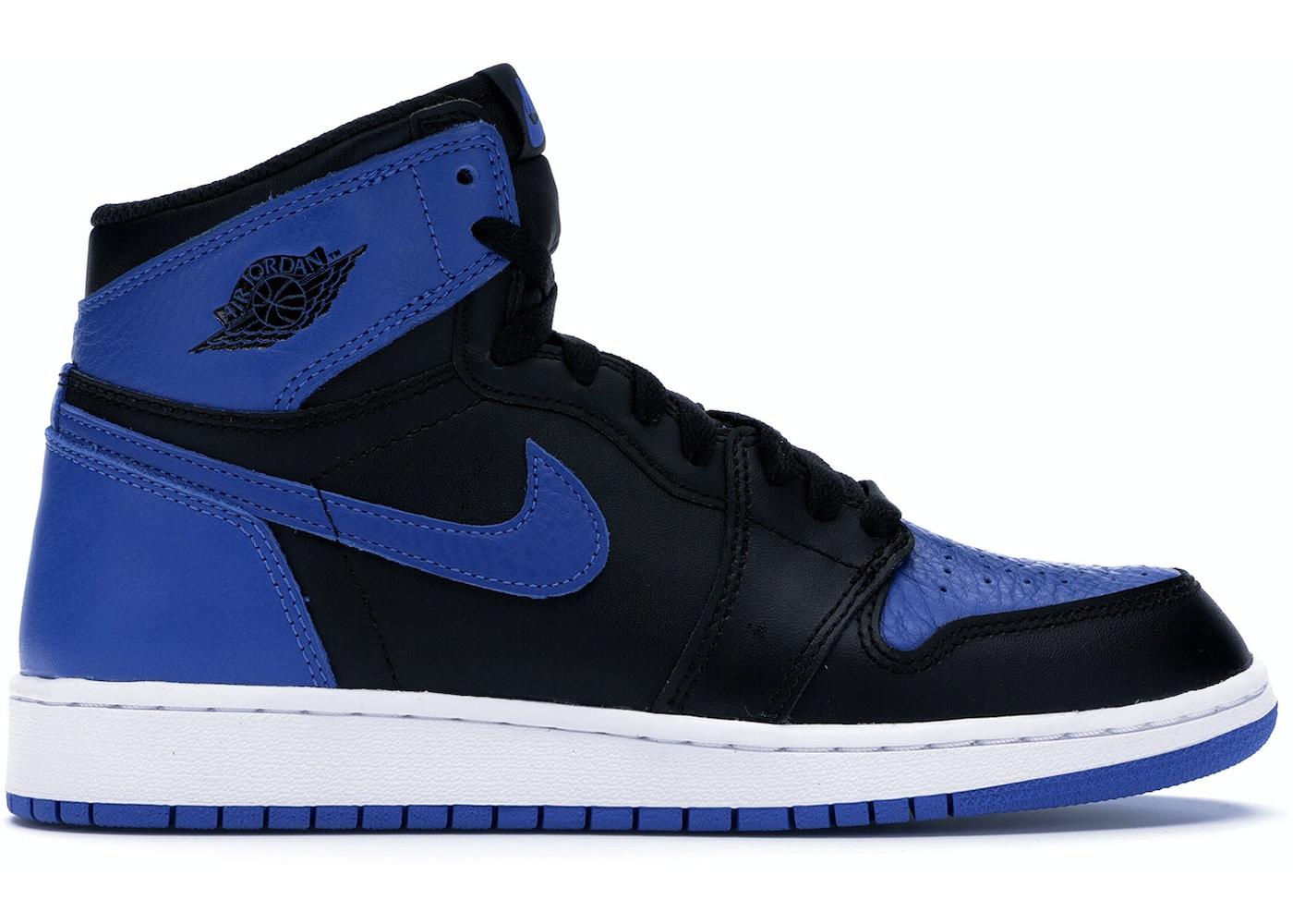 online store 49c83 5307e Jordan 1 Retro Royal 2017 (GS) - 575441-007