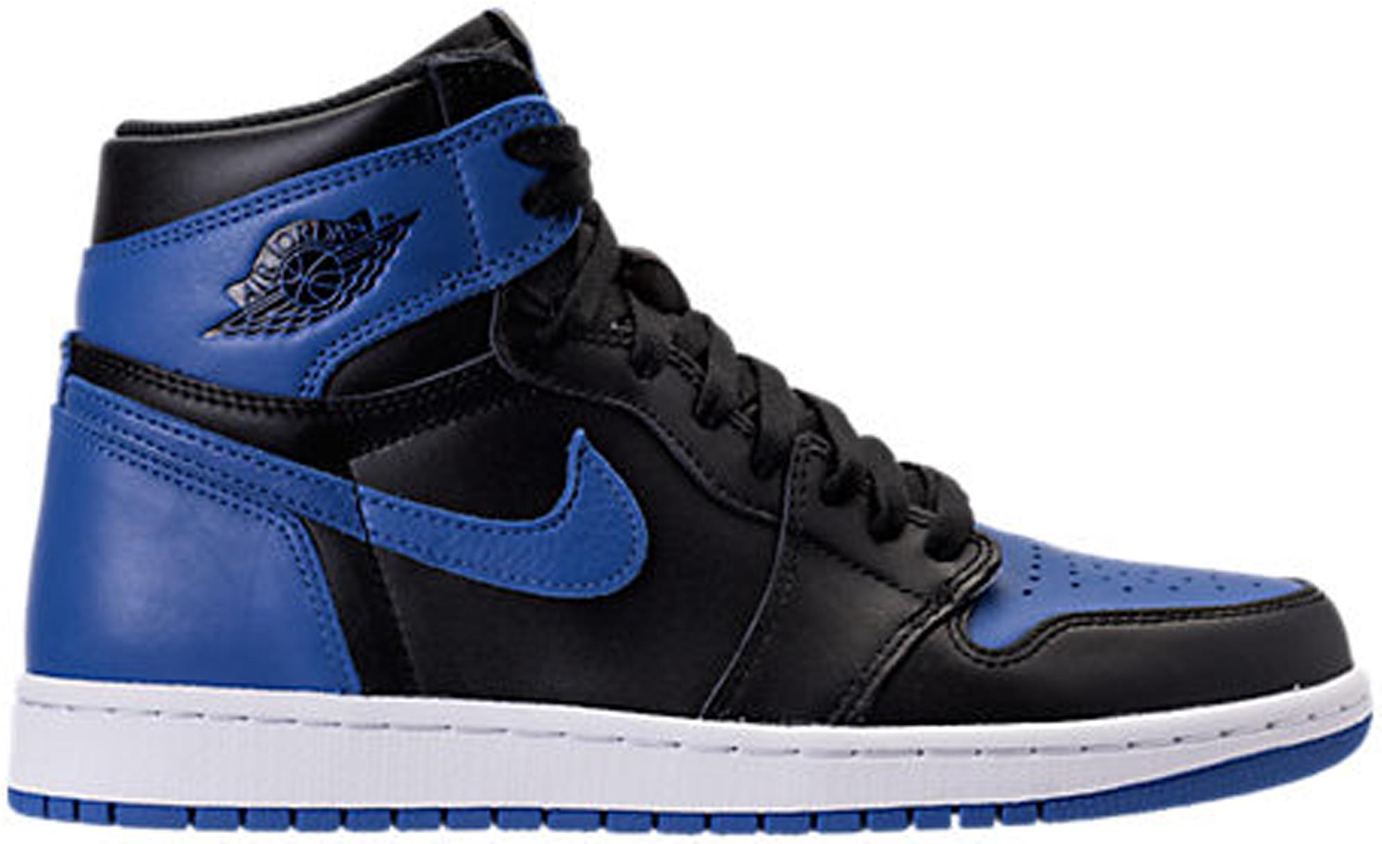 Air Jordan 1 Chaussures De Sport De Tempête Stock Bleu X