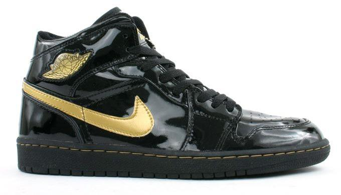 air jordan 1 black and metallic gold
