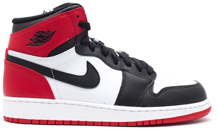 Jordan 1 Retro Black Toe 2013 (GS