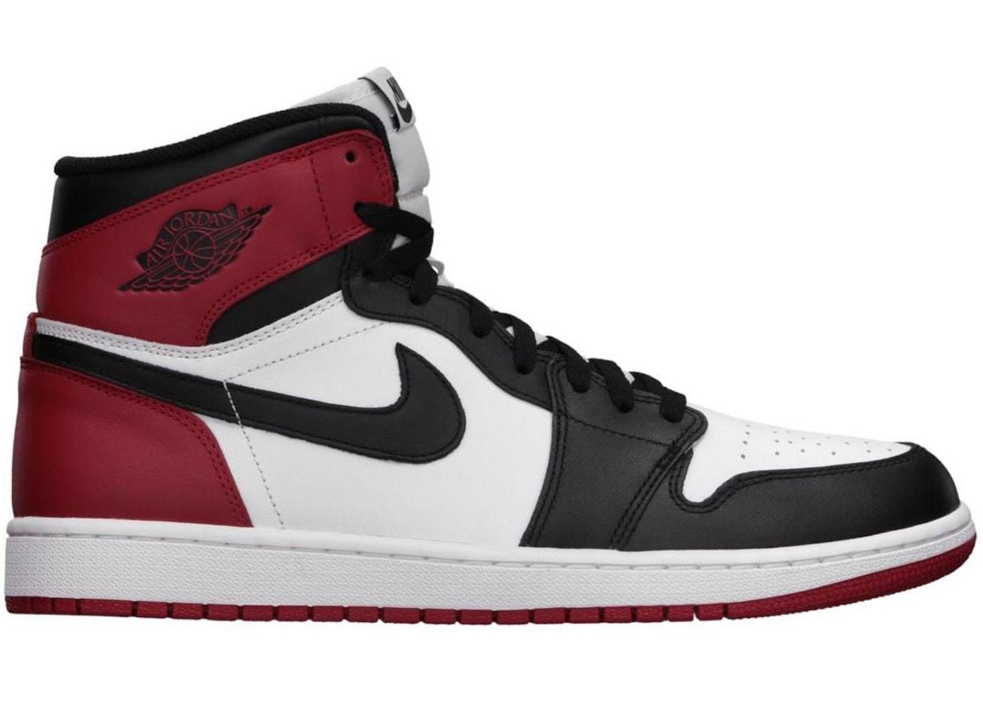 detailed look 7c883 84136 Jordan 1 Retro Black Toe (2013) - 555088-184