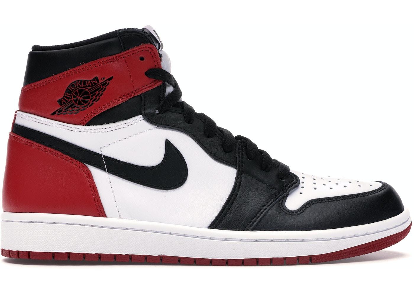 buy popular 959db 799b2 Jordan 1 Retro Black Toe (2016)