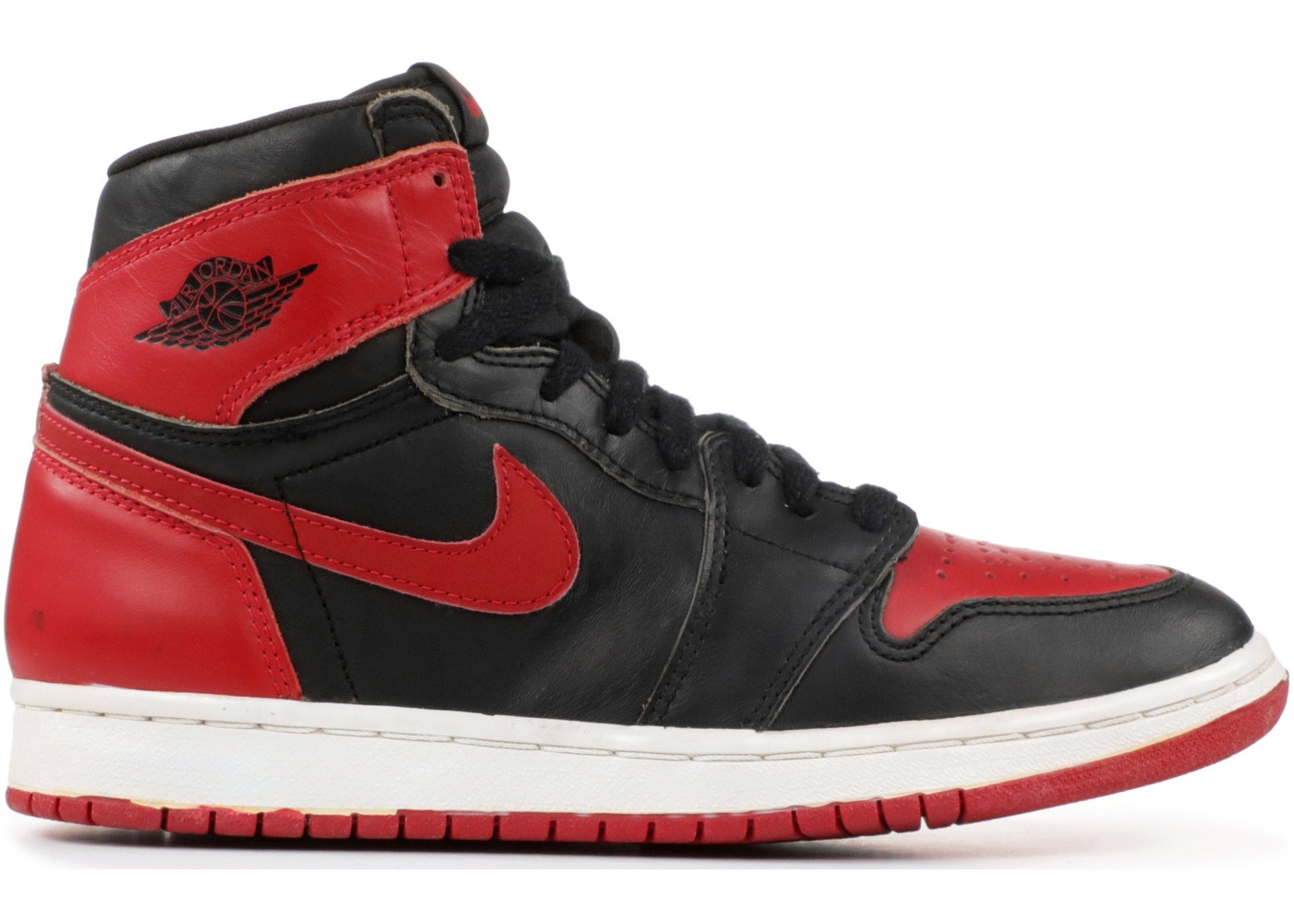 on feet at first rate uk cheap sale Jordan 1 Retro Bred (1994)