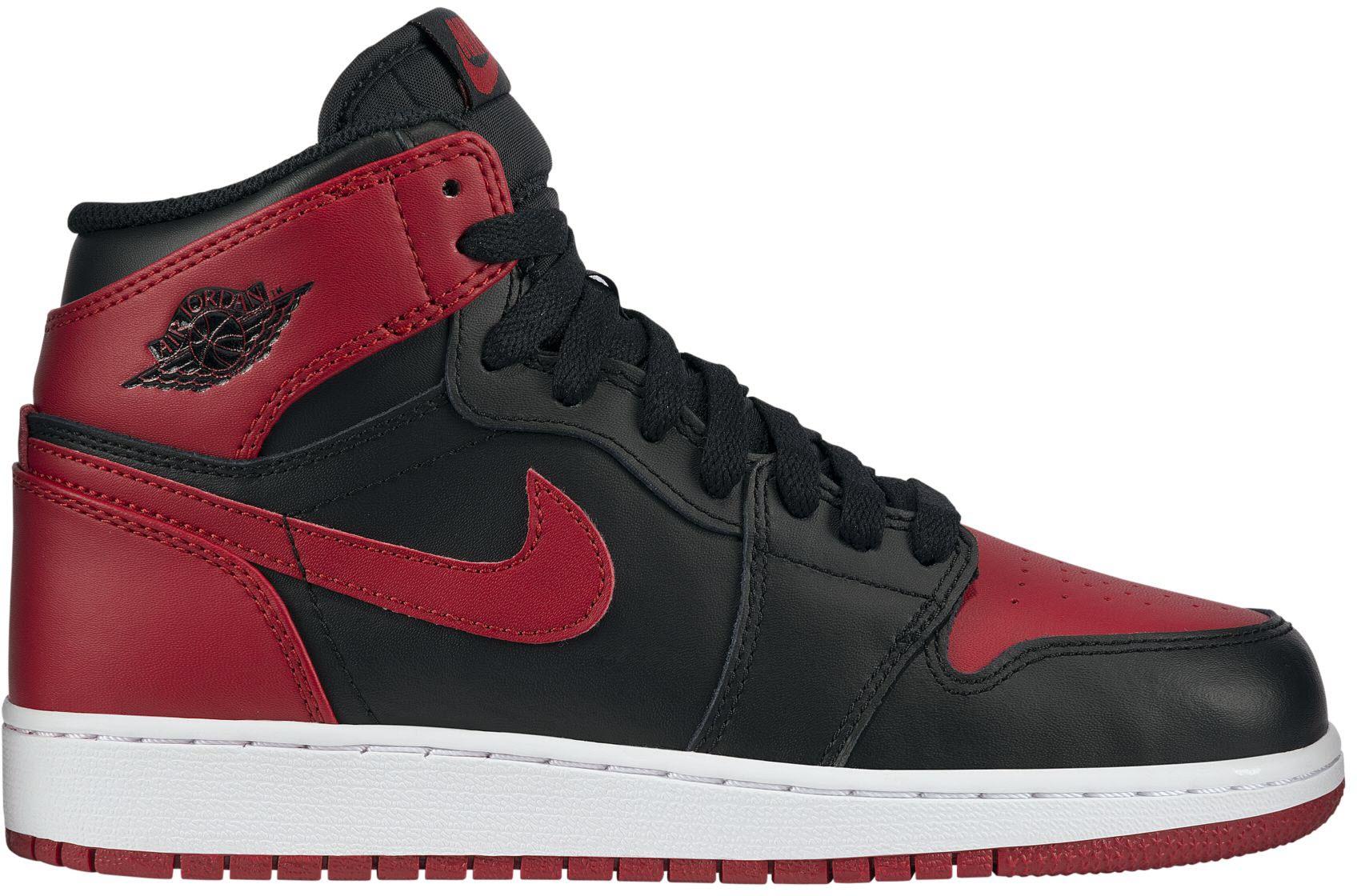 Jordan 1 Retro Bred 2013 (GS) - 575441-023