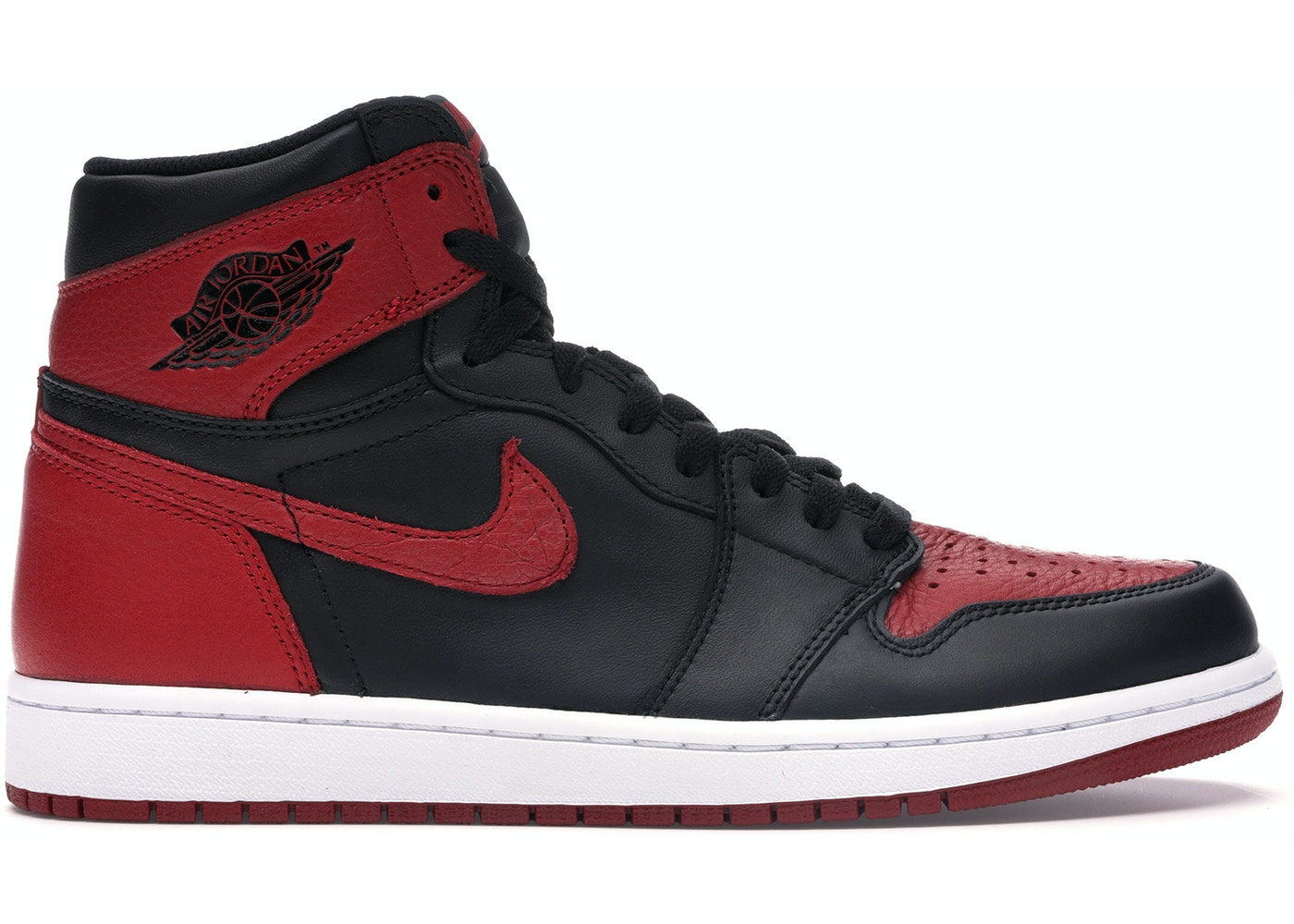 new product 3faf2 31c38 Jordan 1 Retro Bred