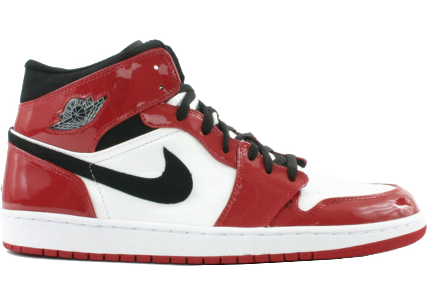 super popular bce21 3f77e Jordan 1 Retro Chicago Bulls Patent (2003)