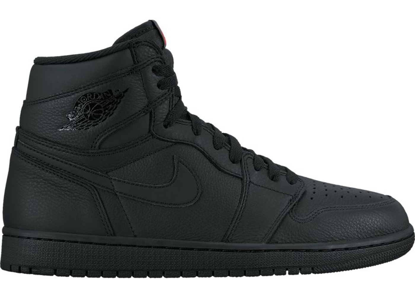 new concept 6d42a 22b5d Jordan 1 Retro High OG Black - 555088-022