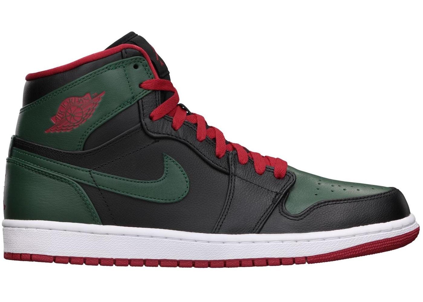 uk availability b4438 fc299 Jordan 1 Retro Green Gucci