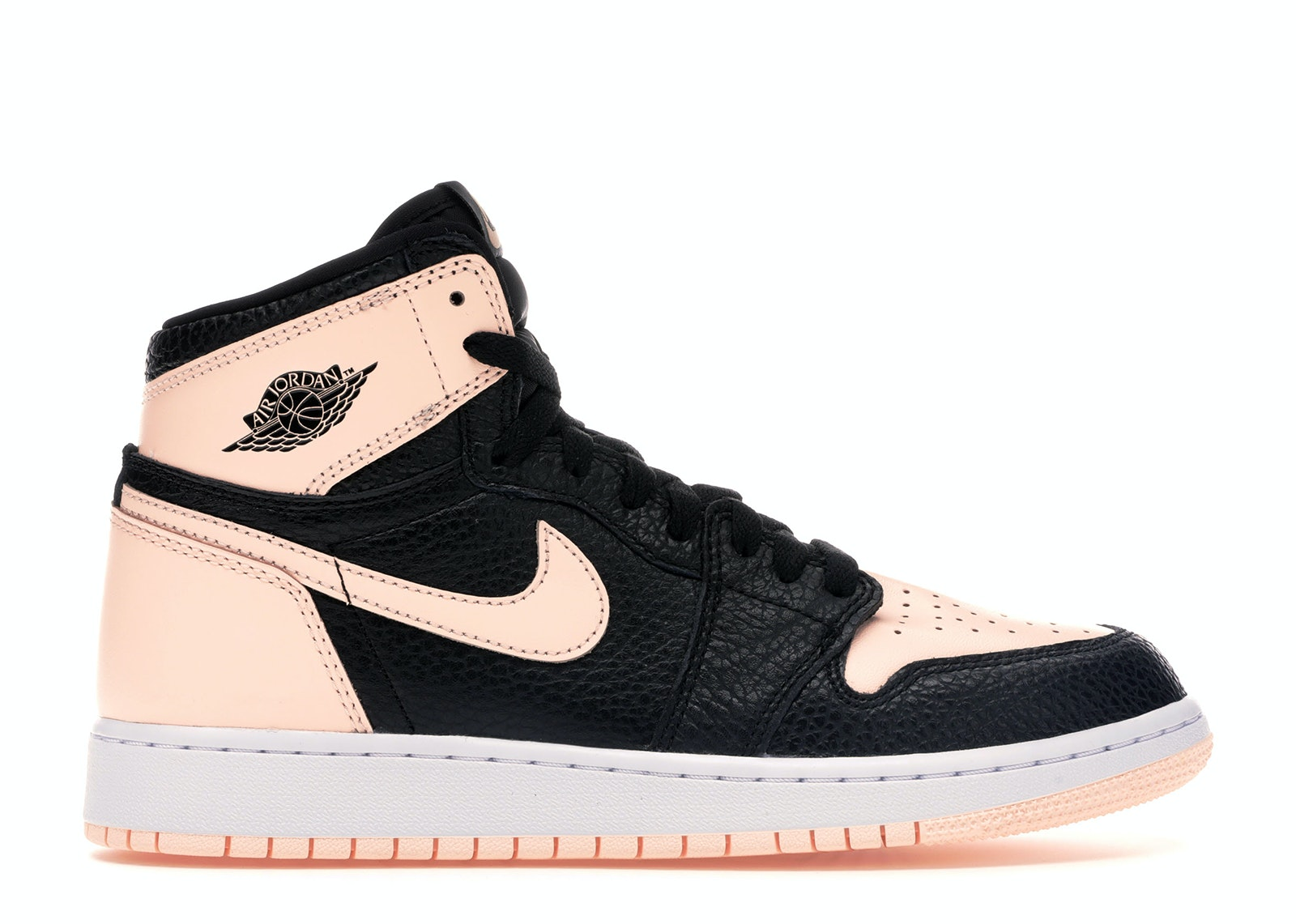Jordan 1 Retro High Black Crimson Tint (GS)