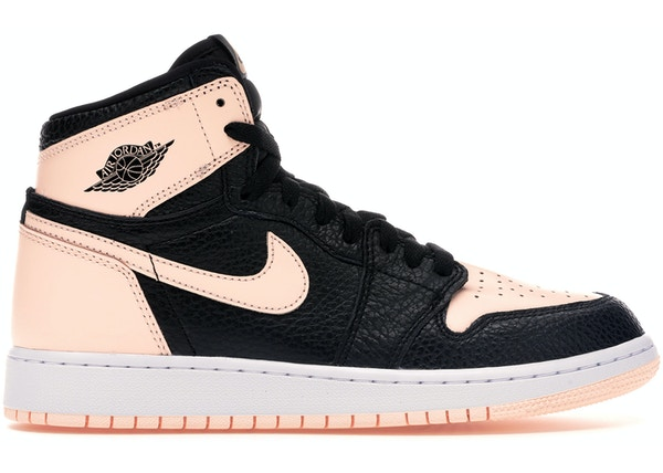 562e0d470ed2 Jordan 1 Retro High Black Crimson Tint (GS)