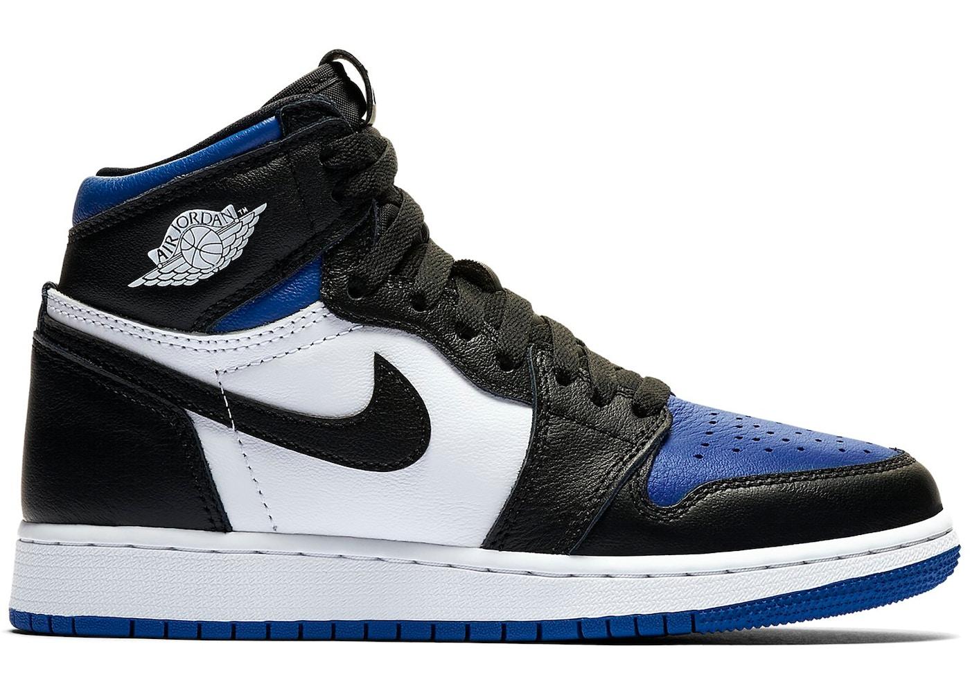 Jordan 1 Retro High Royal Toe Gs 575441 041