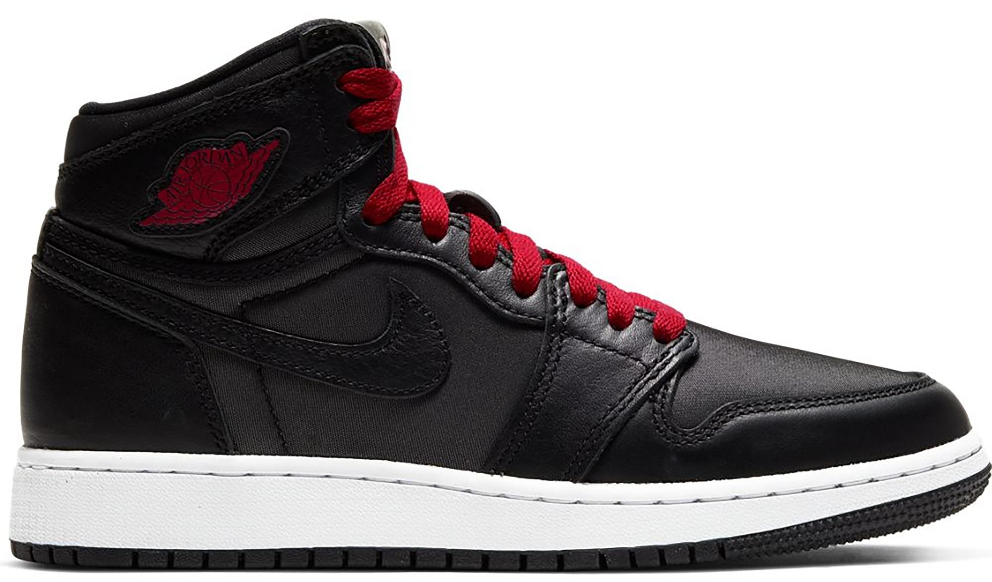 Jordan 1 Retro High Black Gym Red Black