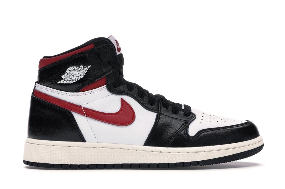 Jordan 1 Retro High Black Gym Red (GS